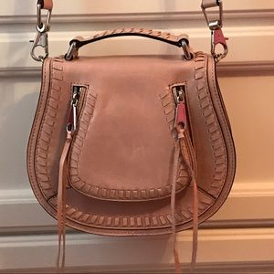 REBECCA MINKOFF SMALL VANITY SADDLE BAG - NEW!